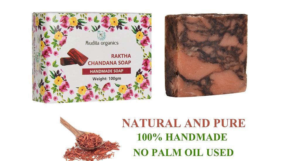 Raktha Chandana Handmade Soap