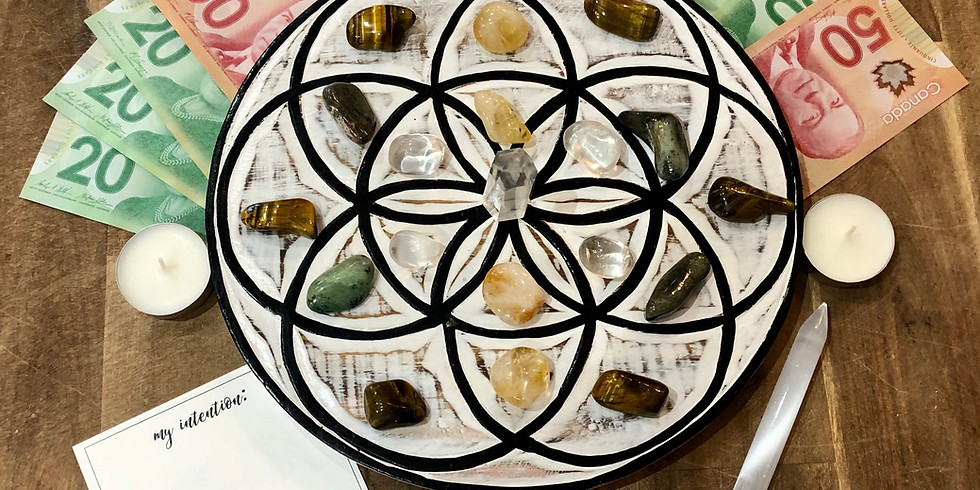 CRYSTAL GRID WORKSHOP: Manifesting ABUNDANCE