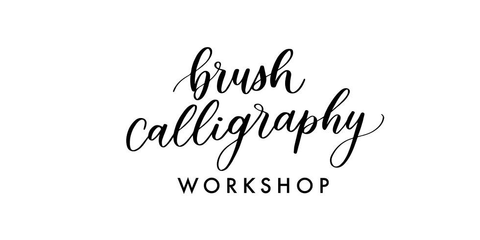 Intro to Brush Calligraphy Workshop (1)