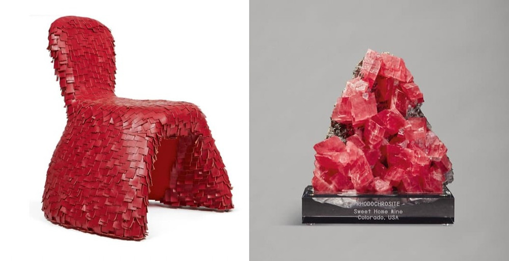 Hester Diamond 21st century design. Rhodochrosyte