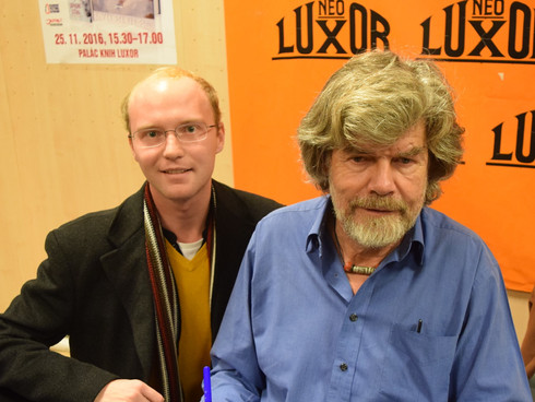 Setkání s Reinholdem Messnerem
