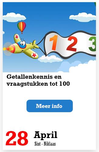 Getallenkennis en vraagstukken tot 100.p