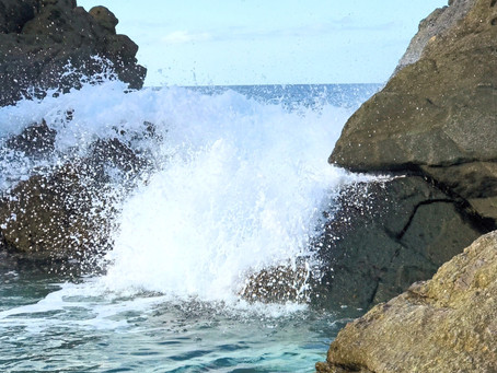 Hike to the Bubbly Pool on Jost Van Dyke, British Virgin Islands