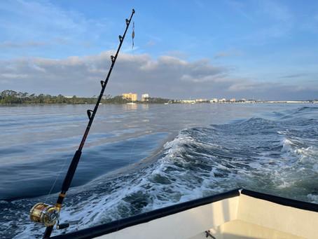 Charter Fishing along the Gulf Coast of Florida