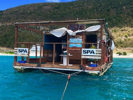 Floating Paradise, Ocean Spa, British Virgin Islands