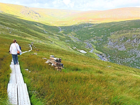 Day Hikes Accessible from Dublin, Ireland.
