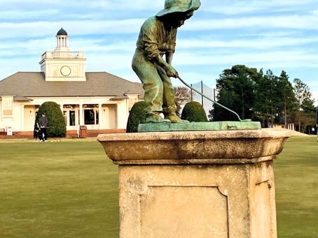 Golfing at Pinehurst, NC