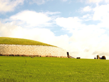 New Grange Neolithic Site, a Day Trip from Dublin Ireland