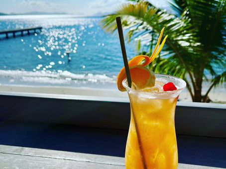 Cocktails with a View in the British Virgin Islands