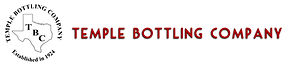 Temple Bottling Company logo + nameline.