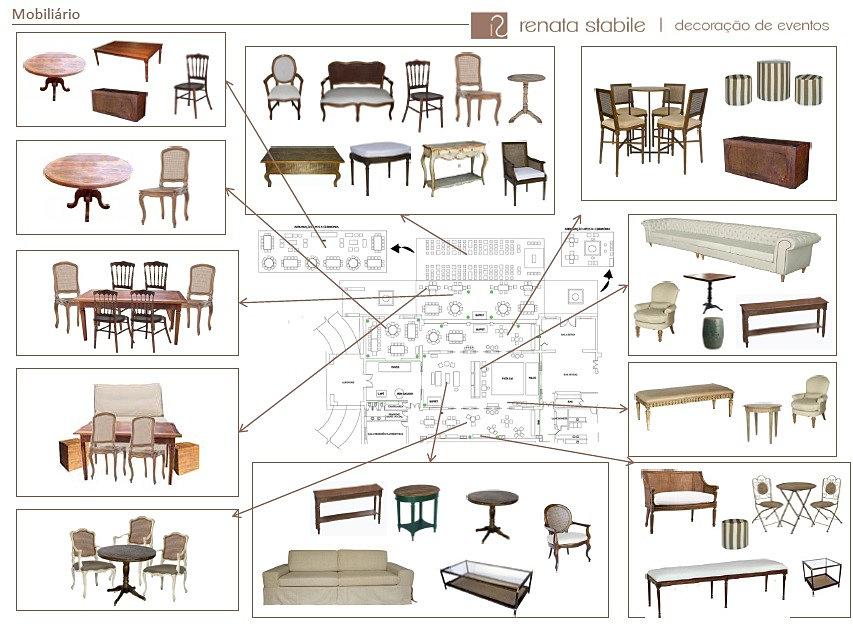 Decora o de casamento renata stabile decora o de for Medidas estandar de muebles arquitectura