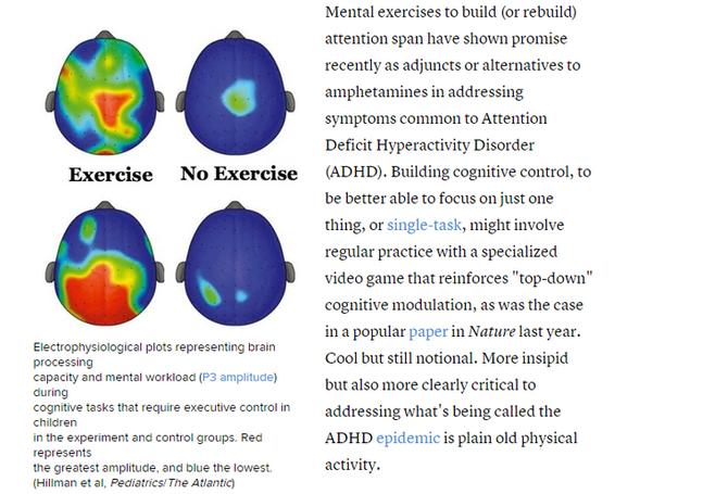 Dikkat Eksikliği Tedavisi-Egzersizin Dikkat Eksikliği Hiperaktivite Bozukluğundaki Etkisi ile İlgili