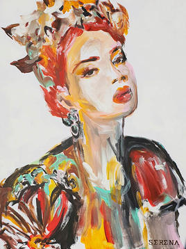 "(Sold) ""Woman in Dolce & Gabbana"""