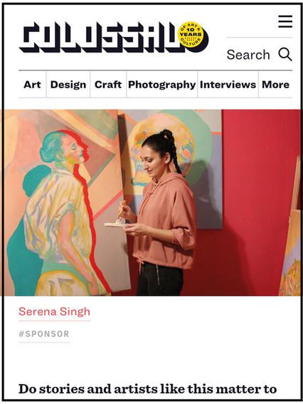 (USA) Colossal Magazine: Featured Artist Serena Singh