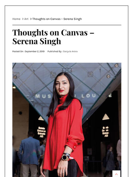 (India) Plapp Interview: Thoughts on Canvas - Serena Singh