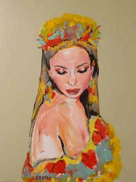 """(Sold) """"Woman in Dolce & Gabbana No.4"""""""