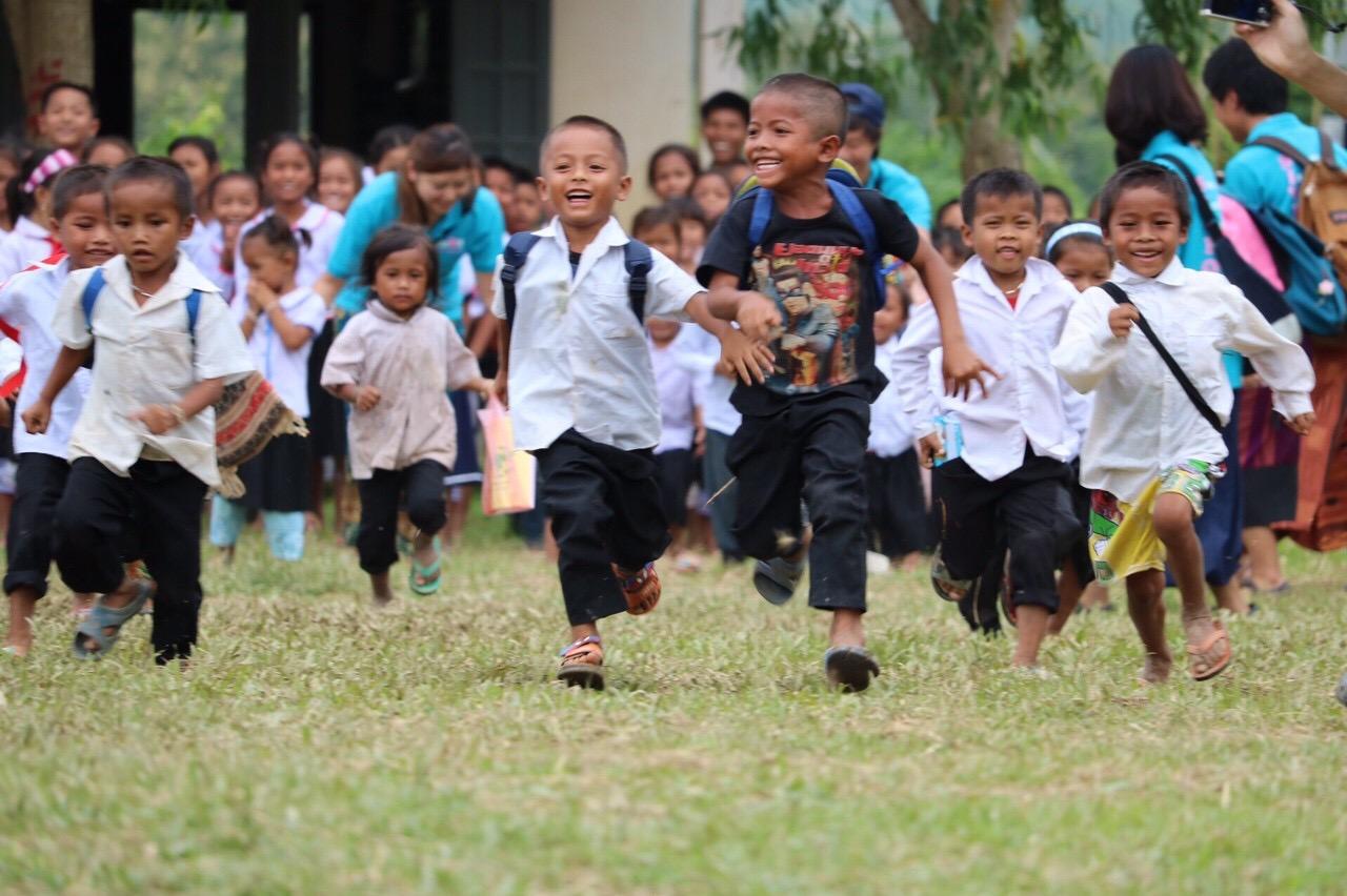 ナンムラ村の子どもたち