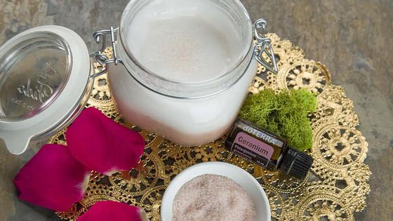Coconut Salt Scrub