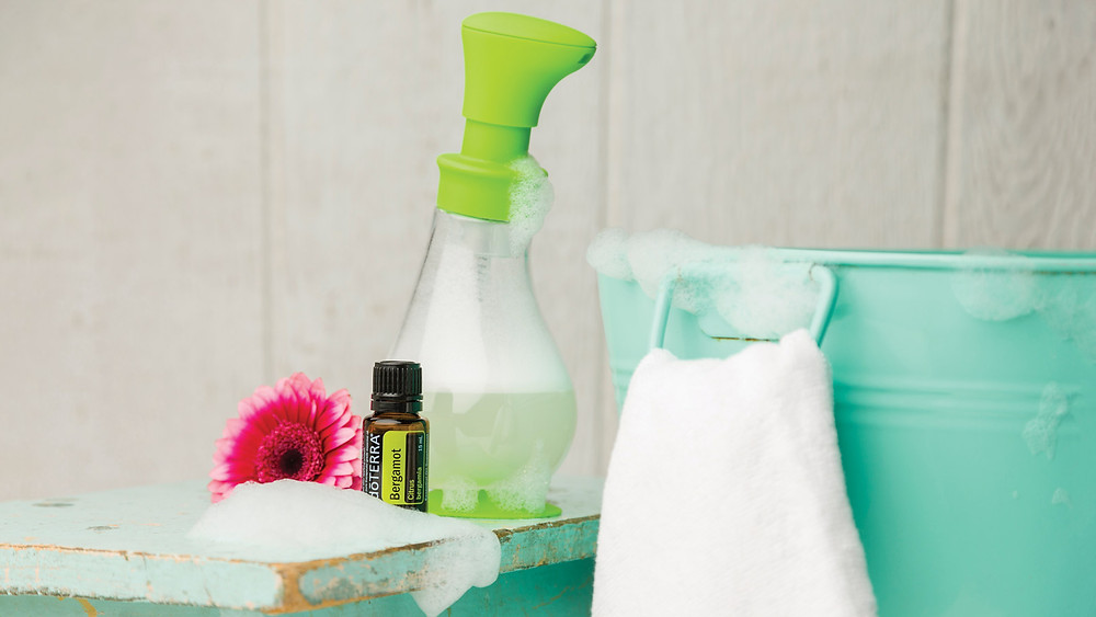 chemical free foaming hand soap