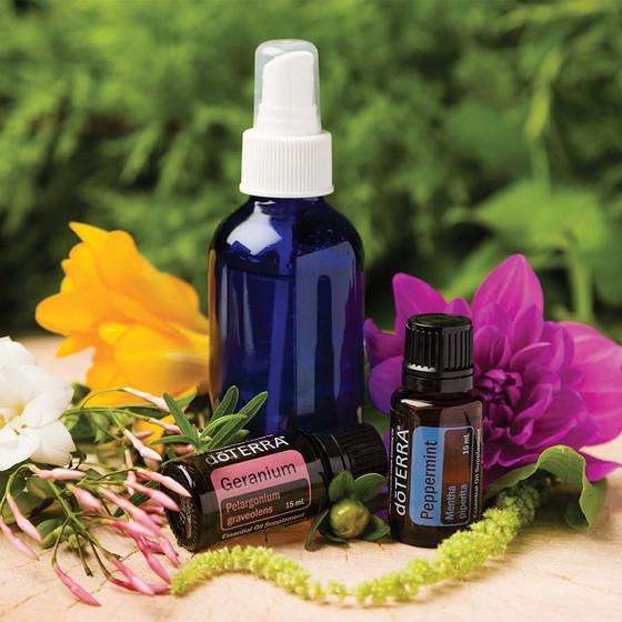 DIY Herbal Hairspray