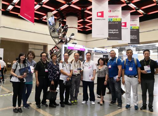 [活動相片] 參觀台北國際電腦展2018