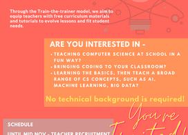 Hour of Code Teacher Recruitment