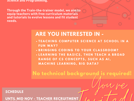 Hour of Code Teacher Recruitment
