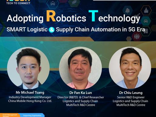 【Tech To Connect Series 工作坊 第二彈】🤖活用機械:智慧物流與供應鏈自動化