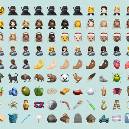 加入珍奶、忍者、跨性別旗幟Emoji! iOS 14.2 Beta 2 秋季上線!