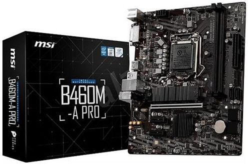 MSI B460M-A PRO LGA1200 Motherboard