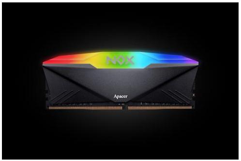 Apacer Nox 16GB RGB DDR4 3600MHz Gaming Memory