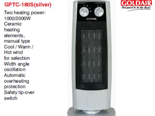 PTC HEATER GPTC-180S(silver)