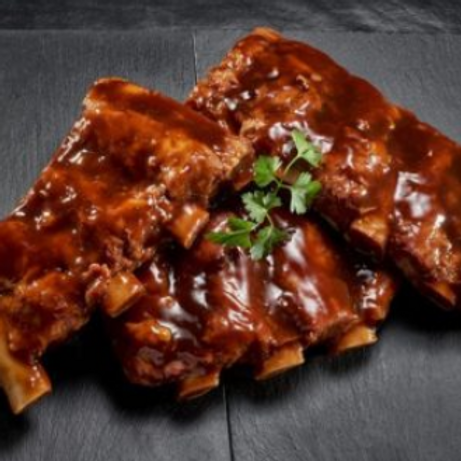 Beef Ribs (Pre-Cooked & Marinated)