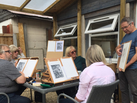 Drawing workshops are back!!!!