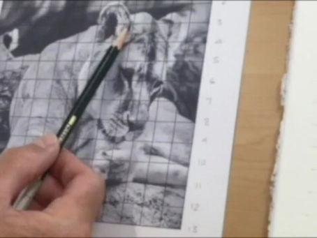 New Online Drawing tutorial / Workshop