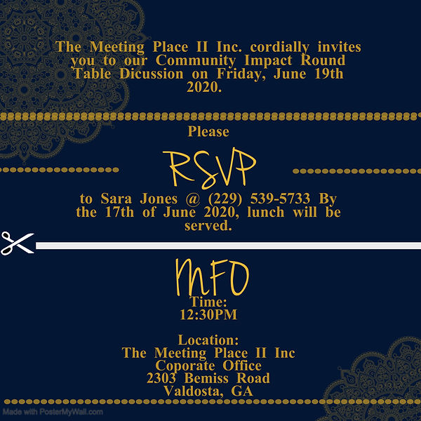 Copy of RSVP Template - Made with Poster