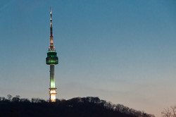 N Seoul Tower Night View