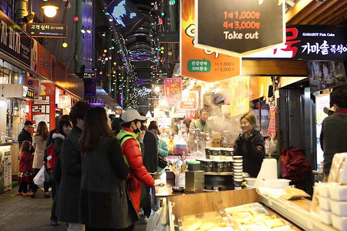 Busan Night food tour - Bupyeong Kkangtong market