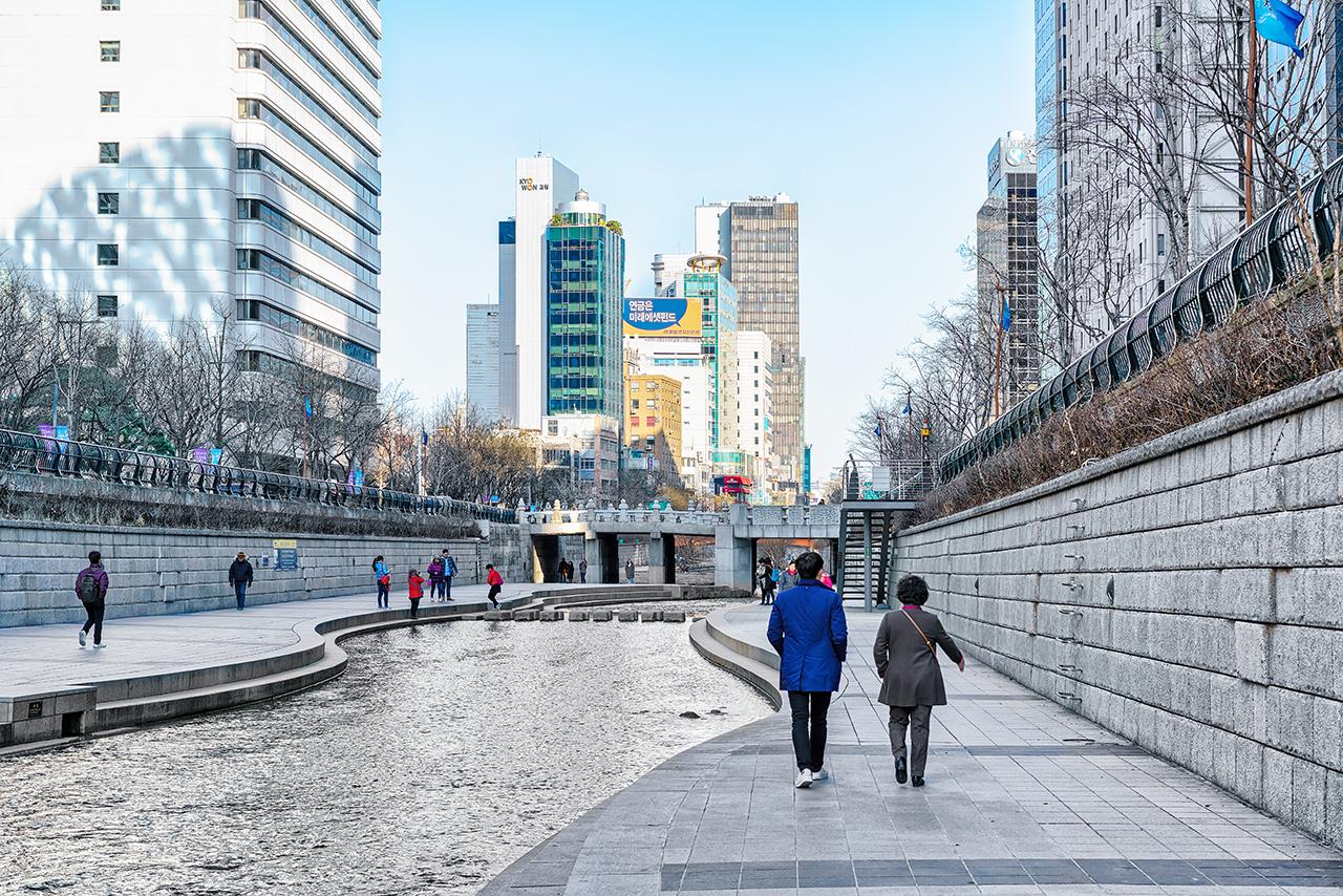 Chyeonggye Stream