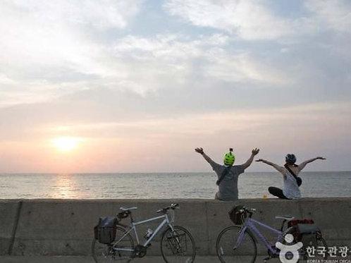 Half Day : Riding Electric Bicycle  to Haedong Yonggungsa Temple
