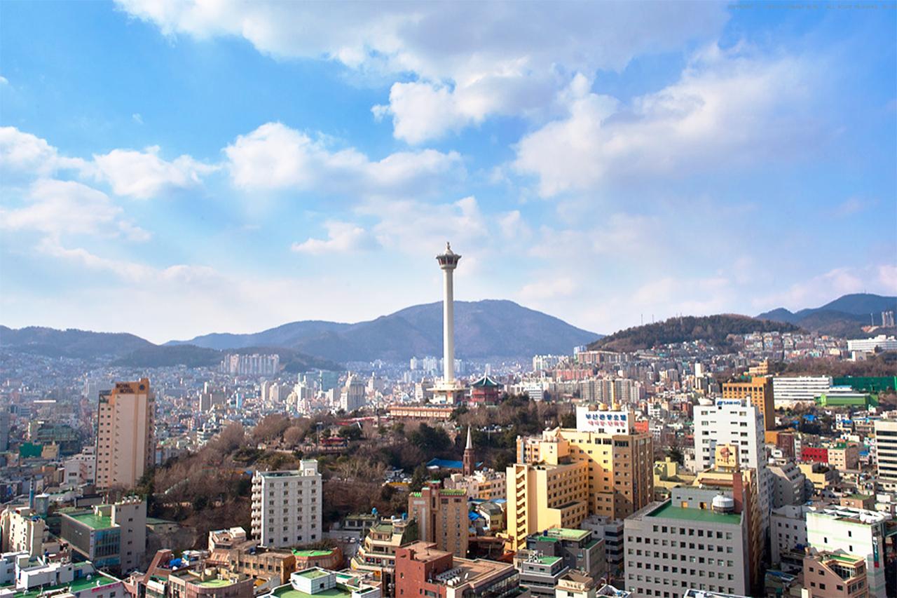 Busan Tower at Yongdu Park