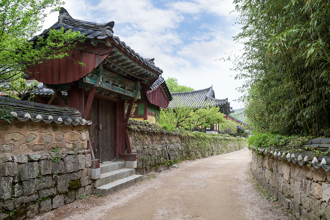 Templel In Busan