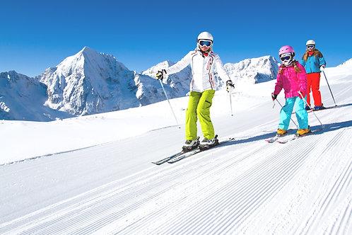 Ski tour to Jisan forest ski resort