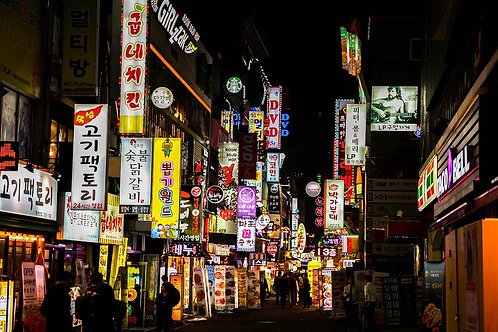 Night food tour Seoul for Small group
