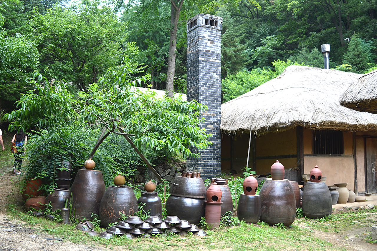 Korean Folk Village Traditional House