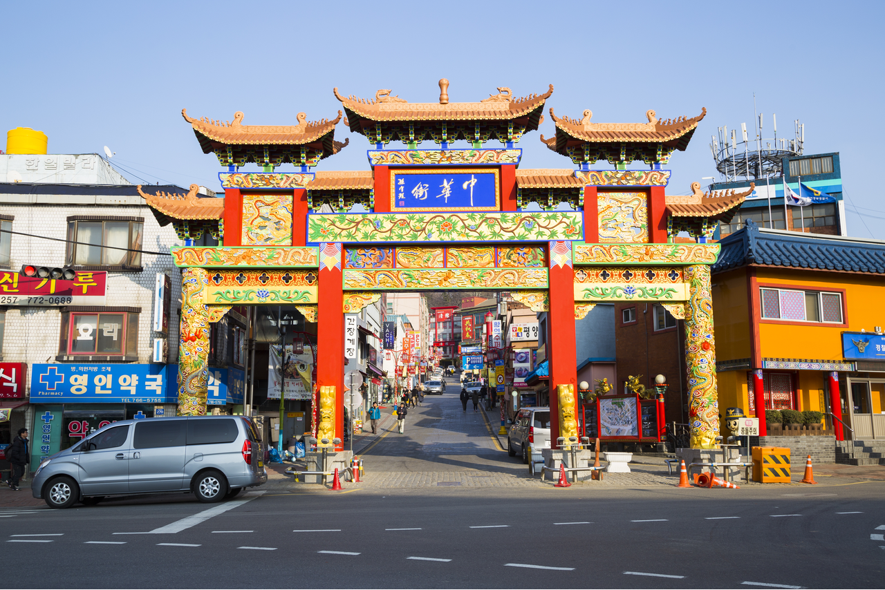 Incheon Chinatown Entrance