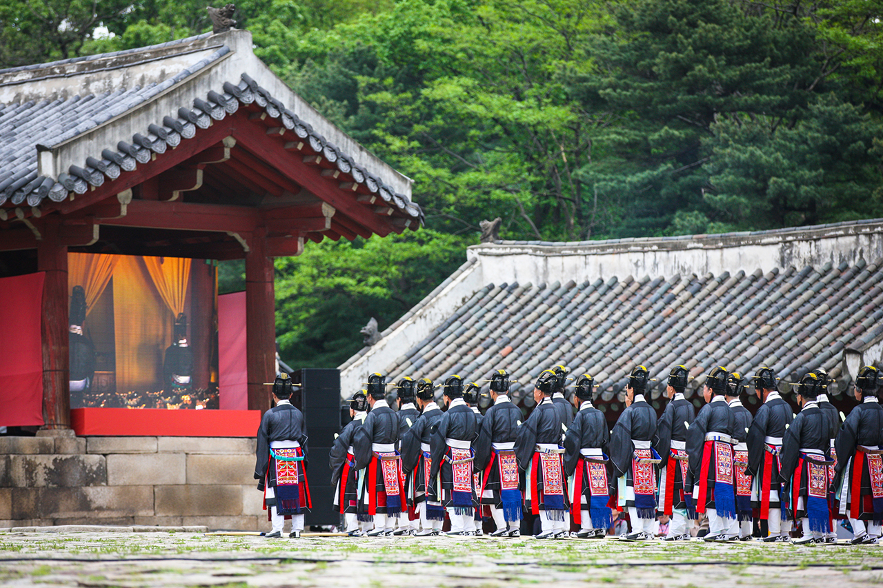 Royal Ancestral Rite and Ritual Music of Jongmyo Shrine