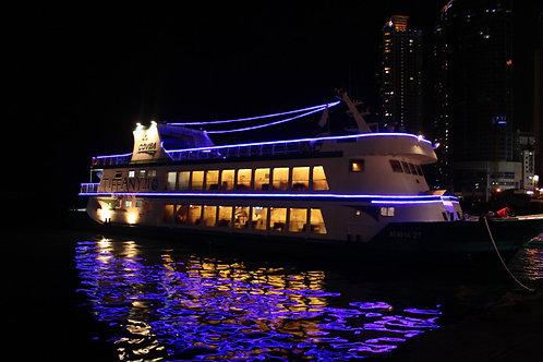 Busan Night tour: Night Cruise & Sightseeing in South Korea's vibrant seaside