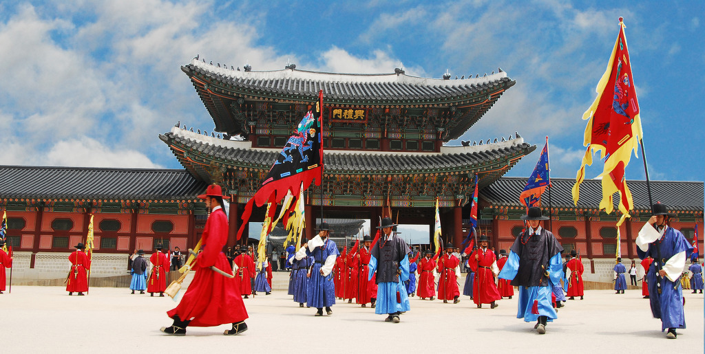 Gyeongbokgung Guard change ceremony