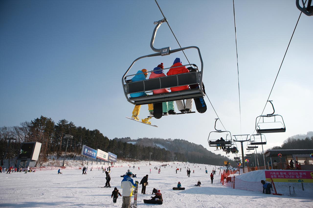 Yongpyeong Resort, Ski resize